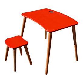 Damla Kids Table and Stool Set