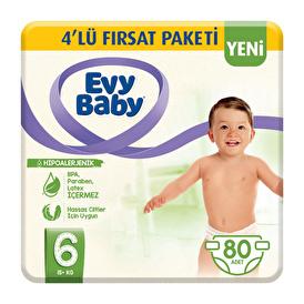 Bebek Bezi 6 Beden Ekstra Large 4'lü Fırsat Paketi 80 Adet
