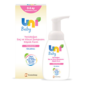 Newborn Foam Shampoo 200 ml