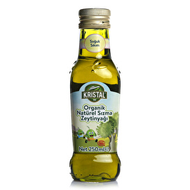 Organic Natural Extra Virgin Olive Oil 250 ml Glass