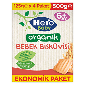 Organic Baby Biscuit 500 gr