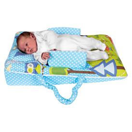 Lüks Bebek Reflü Yatağı - Pamuklu Kılıf