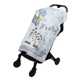 Pano Printed Muslin Baby Stroller's Cover