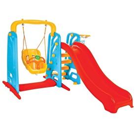 Cute Baby Slide and Swing Set