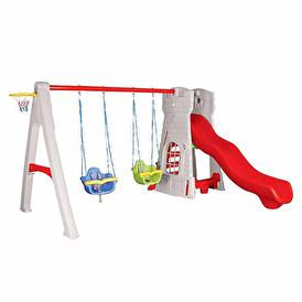 07-957 Castle Slide and Swing
