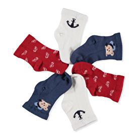 Summer Baby Boy Sailor Bear Socks 2 pcs