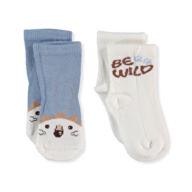 Summer Baby Boy Be Wild Socks 2 pcs
