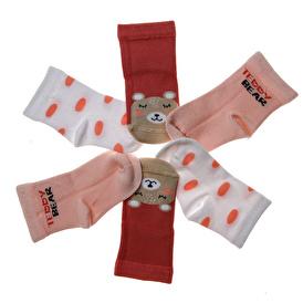 Teddy Bear 3lü Soket Çorap