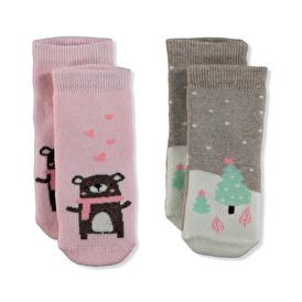 Havlu Çorap 2li