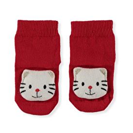 Kedi Oyuncaklı Çorap