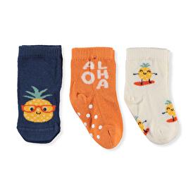 Step Aloha 3lü Soket Çorap