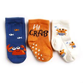 Yengeç 3lü Soket Çorap