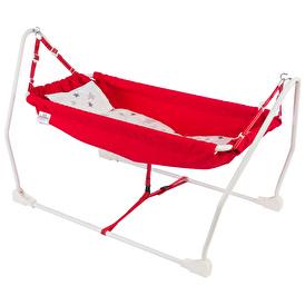 Marmaris Foldable Baby Hammock Red