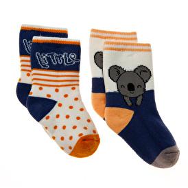 Bolero KOALA 2li Havlu Çorap