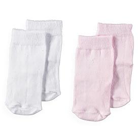 Bebek 2Li Kaydırmaz Çorap - Karışık Renkli