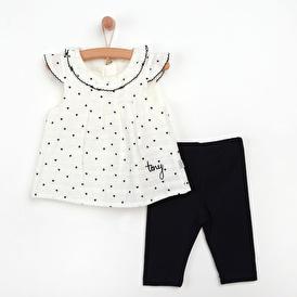 Kalpli Basic Bluz - Tayt 2li Takım