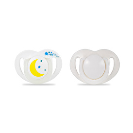 Silicone Night Soother 12 Month+ 2 pcs