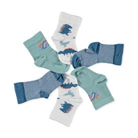 Dino 3lü Soket Çorap