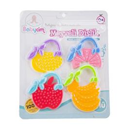 4lü Meyveli Bebek Dişlik