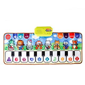 Neşeli Renkli Piano Halısı