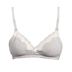 Lacy Detailed Maternity Nursing Breastfeeding Bra