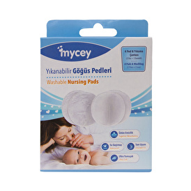 Washable Breast Pad 4 Pieces