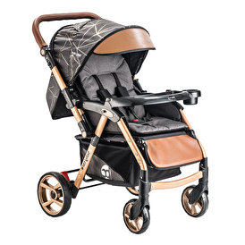 Babycare Maxi Gold Double Sided Baby Stroller