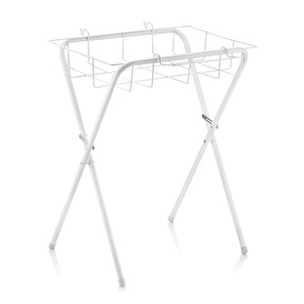Baby Bath Stand with Large Basket 1 pcs