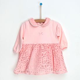 Kız Bebek Luna Bebe Yaka Elbise