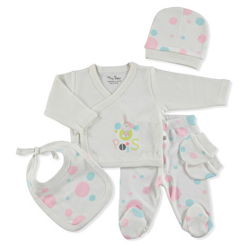 Spotty Rabbit Newborn Hospital Pack 5 pcs
