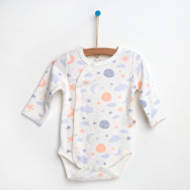 Summer Baby Girl Long Sleeve Snapsuit Bodysuit