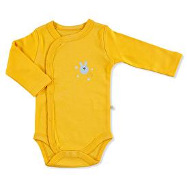 Winter Long Sleeve Baby Boy Snapsuit Bodysuit