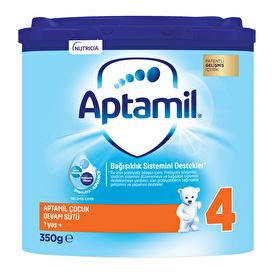 New Aptamil 4 Smart Box Kids Follow-On Milk 350 Gr 1 Age +