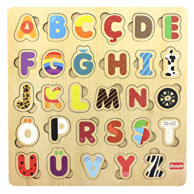 Classic World Wooden Numbers Underwater Puzzle