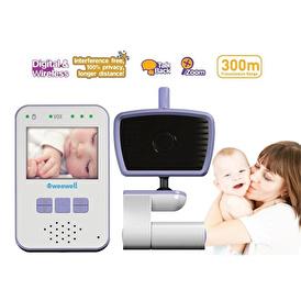 WMV812 Digital Baby Monitor Wireless 300 mt