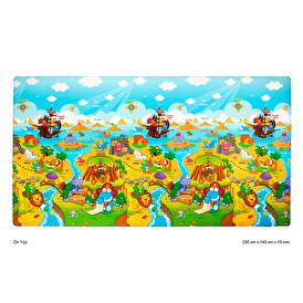 Dwinguler Dino Adventure Play Mat 2300x1400x15mm
