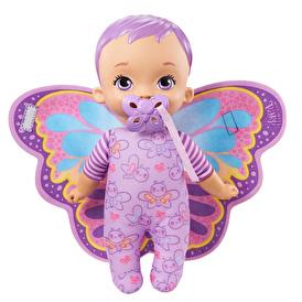 İlk Kelebek Bebeğim Mor Saçlı Bebek