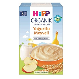 Baby Food with Milk Yogurt Fruits 250 g