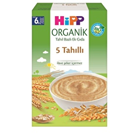 Organic 5 Cereal Mixed Baby Food 200 g