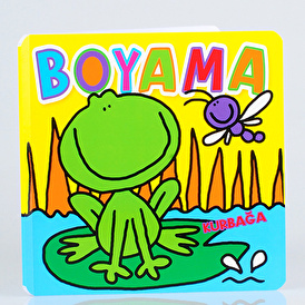 Painting Book Frog - Turkish Book