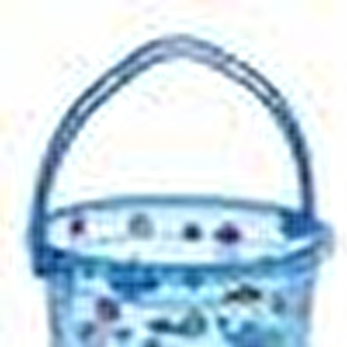 Şeffaf Desenli Banyo Kovası 12 Litre