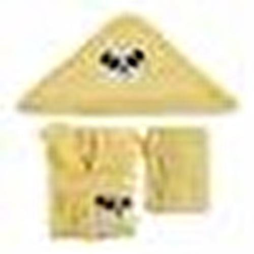 Bebek Bornoz Seti Sarı