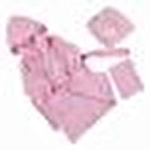 Bebek Bornoz Seti Pembe