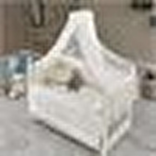 King Baby Crib White
