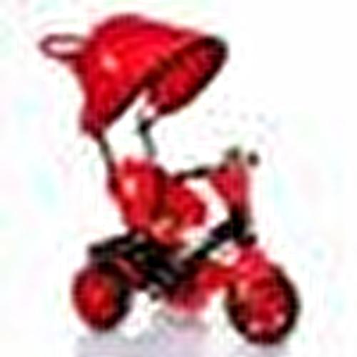 Bobo Speed Tenteli 3 Tekerlekli Bisiklet Kırmızı