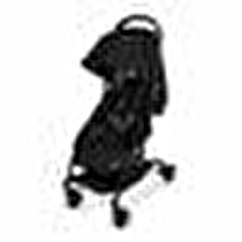 Atom Bebek Arabası - Siyah
