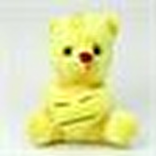 Toy Plush Bear with Smiley Heart 20 cm