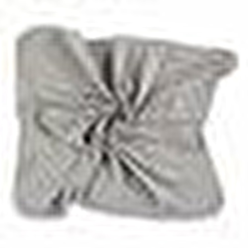 Baby Organic Grey Woollen Rib Blanket
