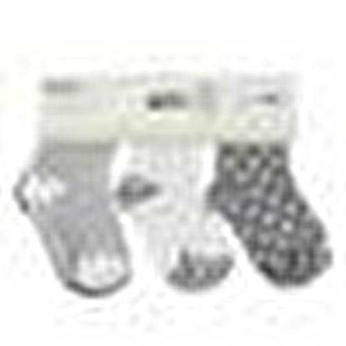 Baby Socks 6 Pack - Gray