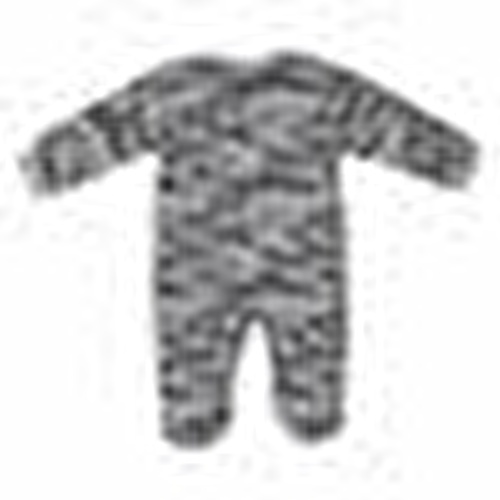 Camouflage Baby Footed Romper